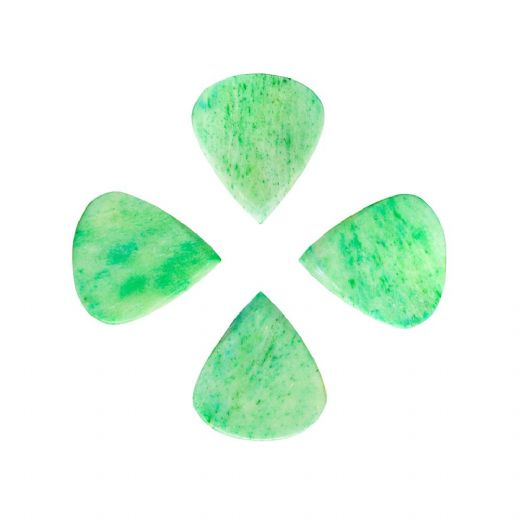 Jazzy Tones Green Bone 4 Guitar Picks
